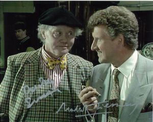 Dudley Sutton & Chris Jury from Lovejoy hand signed autograph